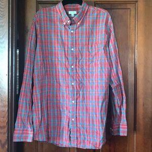 Sonoma men's long sleeve button down shirt.